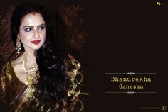 Theme : Bhanurekha Ganesan 2015,Designed By : Sanchari Bhattacharya Exclusively
