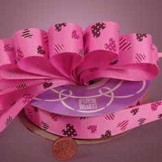 Fabric Ribbons | Satin Ribbons | Grosgrain Ribbons     TEA BAG RIBBON (Steeped in Love)