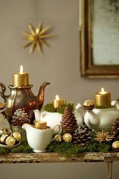 Make your own advent wreath - elegant, classic and romantic ideas - Make your own Advent wreath – 10 ideas – Advent craft idea - Dorm Decorations, Christmas Decorations, Make Your Own, Make It Yourself, Diy Home Accessories, Decor Logo, Diy Bar, Christmas Scenes, Easter Wreaths