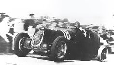 Tazio Nuvolari, Alfa Romeo 12C . Brno,1937