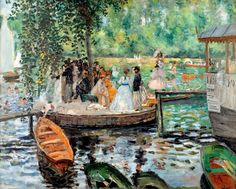 La Grenouillere, Renoir 1869, Fade Resistant HD Art Print in Art, Prints   eBay