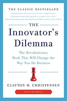 The Innovator's Dilemma: The Revolutionary Book That Will Change the Way You Do Business by Clayton M. Christensen http://www.amazon.com/dp/0062060244/ref=cm_sw_r_pi_dp_5V7nwb1C2DRDC