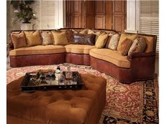 Century Furniture Greatwood Sectional LR-82300 Sectional