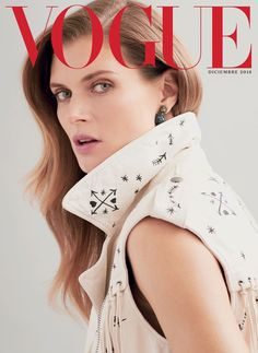 Everything or Nothing: Malgosia Bela for Vogue Mexico December 2016 | Fashnberry