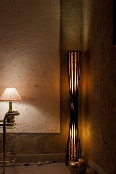 Floor lamp, Wooden lamp, Bamboo lamp, bamboo furniture, Wood lamp, Mother's Day, natural lighting
