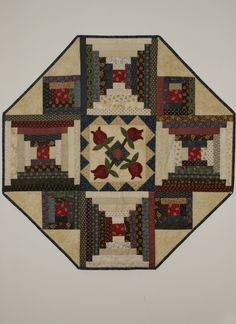 Floral Court House Topper 36x36 #9005