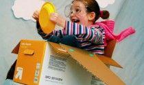 """Prenez un temps d'avance - SoonSoonSoon """"un kit qui permet à l'enfant de réutiliser des matière tel que le carton afin de créer tout ce que son imaginations désirs"""""""