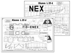 Klemm L25d - plan thumbnail