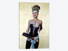 Regina Erotica - Agnes by Titti Garelli 1-piece Canvas Art Print