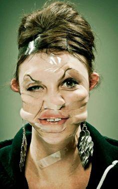 Sellotape Face
