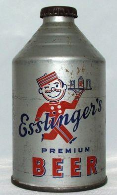 Esslinger's Beer - Steel Canvas