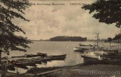 meyers lake amusement park - boat landing