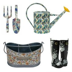 Here are Four of Ten Floral Themed Must-Haves for Spring #Gardening! #gardeningtools