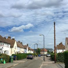 The sky is truly beautiful today! Flyering in #Wembley for upcoming @jumbletrail on 10th September