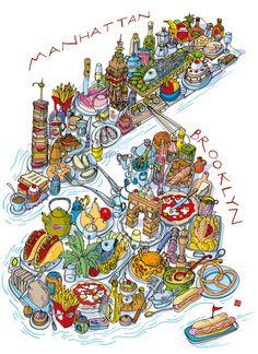 Carlo Stanga - Great GoogaMooga food map - Manhattan and Brooklyn festival of food, drink and music.