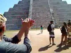 Chichen Itzá y el efecto de sonido del Quetzal - YouTube