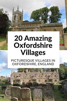 Oxfordshire Villages | Oxfordshire Countryside | English Villages | Villages In Oxfordshire . 20 Oxfordshire Villages: Witney, Burford, Thame and more. Discover these gorgeous English villages from around Abingdon, Blenheim, Oxford and further afield, packed with beautiful buildings, pubs, and things to do.