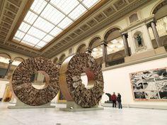 Musées Royeaux de Beaux-Arts de Belgique, Place de l'Albertine, Place du Musée, Place Royale | Septiembre a Noviembre de 2010 | Bruselas, Bélgica  #JavierMarínescultor