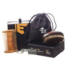 Divine Smell Premium Beard Comb and Beard Brush Set - Grooming Kit for Men - Sandalwood Beard Pocket Comb & Boar Bristle Brush - Gift by The Beard Brave - Keychain Bottle Opener and E-Book - Hipster Beard Products Boar Bristle Brush, Hipster Beard, Beard Brush, Bottle Opener Keychain, Grooming Kit, Beard Care, Hair And Beard Styles, Brush Set, Brave