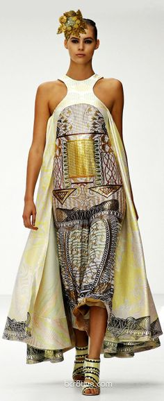 Diseño entre étnico maya y Art Deco, realmente raro para novia pero... si te atreves...