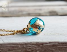 "Chain mini globe, gold chain, minimalist chain, delicate chain ""blue planet"" hand gold plated - Famous Last Words Diy Jewelry Rings, Diy Jewelry Unique, Diy Jewelry To Sell, High Jewelry, Cute Jewelry, Jewelry Art, Jewelery, Jewelry Accessories, Fashion Jewelry"