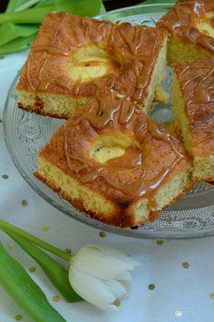 Apfelkuchen mit Salzkaramell