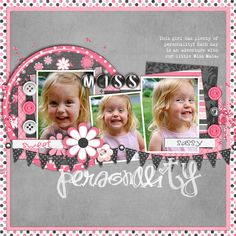 I'm such a sucker for pink and gray together!!  - very cute!  -2012_06_Pers