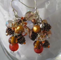 FALL in love with Burnt Orange Copper and by JewelrybyMariB
