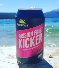 """Have you tried @greenflashbeer Passion Fruit Kicker? If not, it's a must! Wheat ale brewed with passion fruit is the perfect way to cool off on a hot summer day. We just got a few cases in so stop by and try one today! #KonditoreiSunValley #GreenFlashBeer #PassionFruit #Beer #Summer #RedFishLake"" via konditoreisunvalley on Instagram"
