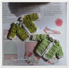 Coisa mais cute!!! Mini casaquinho , lembrancinha de maternidade.