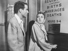 Montgomery Clift and Shelley Winters in A Place in the Sun (1951)