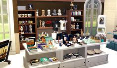 Museum Great Art Exhibition Shop Objects by Sandy at Around the Sims 4 • Sims 4 Updates