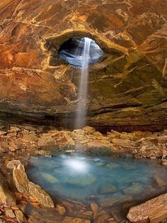 Marvelous Caves that you should Visit !!! -The Glory Hole in Ozark National Forest, Arkansas USA.