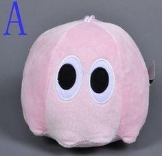 Pac- Pixels War 15-20CM Long Nose Q-bert Ghost Arcade Games Movies TV Cartoon Video Cotton Stuffed Animals Plush Toys Gift