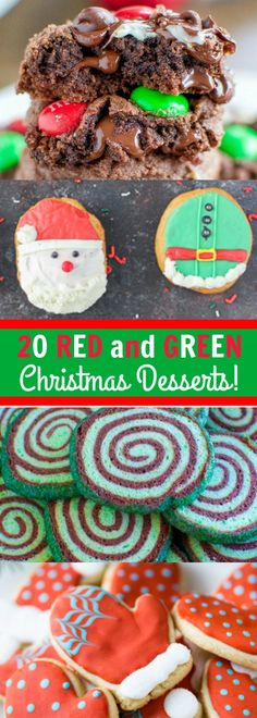 red-and-green-desserts-to-make-your-christmas-merry-and-bright Easy recipe, so Yummy you can not stop at just one! Green Desserts, Desserts To Make, Holiday Desserts, Holiday Baking, Holiday Treats, Holiday Recipes, Christmas Recipes, Holiday Games, Christmas Dishes
