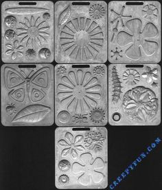 Mattel Fun Flower Thing Maker Molds 1966. These were better than the Creepy Crawlers...for a little girl anyway!