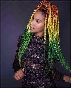 : Kearston Hardaway Click this image for more info. Jheri Curl, Black Hair With Highlights, Hair Highlights, Afro Hair Girl, My Hair, Box Braids Hairstyles, Cool Hairstyles, Hairstyle Braid, Protective Braids