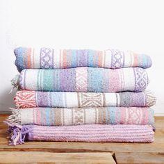 Surprise Color Falsa Mexican Blanket