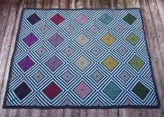 Dayana Knits version of the Rowan KAL Kaffghan - amazing! Free pattern from Rowan >>> from www.dayanaknits.com