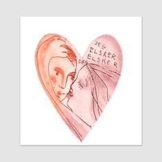 Jeg elsker elsker deg - Björg Thorhallsdottir Words, Universe, Photo Illustration, Horse