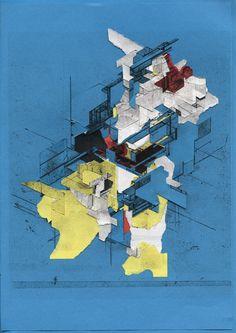 BORIS TELLEGEN (aka DELTA) • Din A4 Isometric Paper Rips • www.deltainc.nl