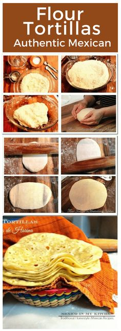 This flour tortillas recipe guides you with step by step images to master the art of flour tortilla making. Cook them today! Bonus Video!