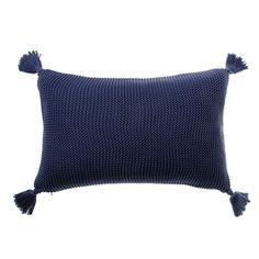 Casbah Indigo Long Cushion