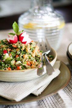 Cold Quinoa and Chickpea Salad