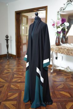 EID SALE Weekend Only Al Mazyoona Black Embroidered by Almazyoona