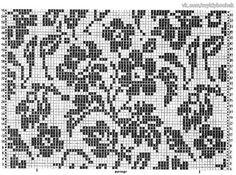 Fair Isle Knitting Patterns, Knitting Charts, Knitting Stitches, Hand Knitting, Crochet Chart, Thread Crochet, Fillet Crochet, Tapestry Crochet, Double Knitting