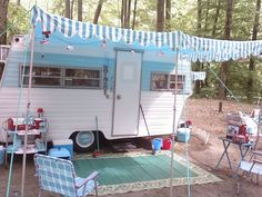 Little Glamper glamping it up!