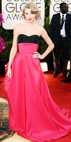 Taylor Swift - 2014 Golden Globes: Red Carpet Arrivals - Golden Globes 2014 - Celebrity - InStyle