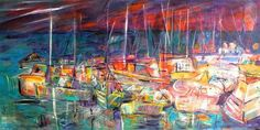 Christy Sverre paints inspiring and unique semi-abstracts. Her art is found in private collections in Canada, United States, Norway, France and Singapore. Nautical Art, Norway, Singapore, United States, Canvas, Abstract, Painting, Inspiration, Tela