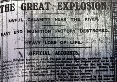 Silvertown explosion remembered 100 years on - Heritage - Newham Recorder